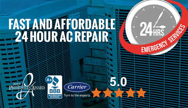 24 Hour AC Repair Tampa, FL | Emergency AC Repair Service