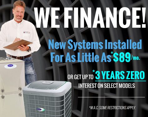 Air conditioner financing