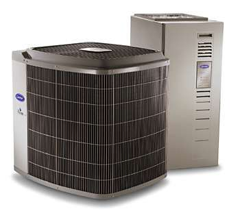 Carrier AC Unit and Heater