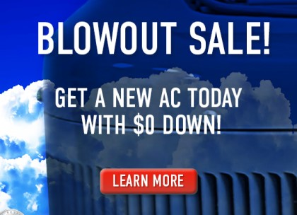 AC replacement and installation blowout sale Tampa, FL