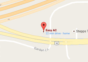 Easy AC on google maps