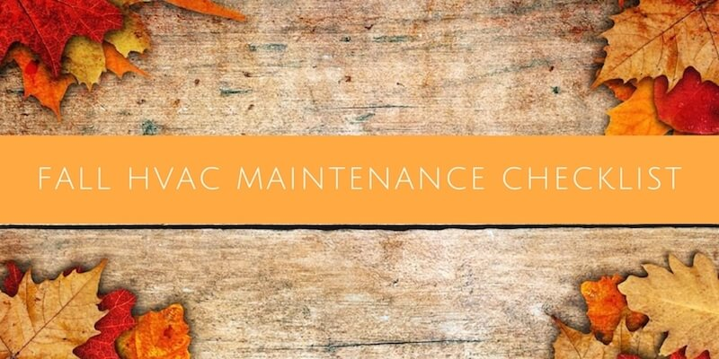 Fall Hvac Maintenance Tips For A Healthy Central Air